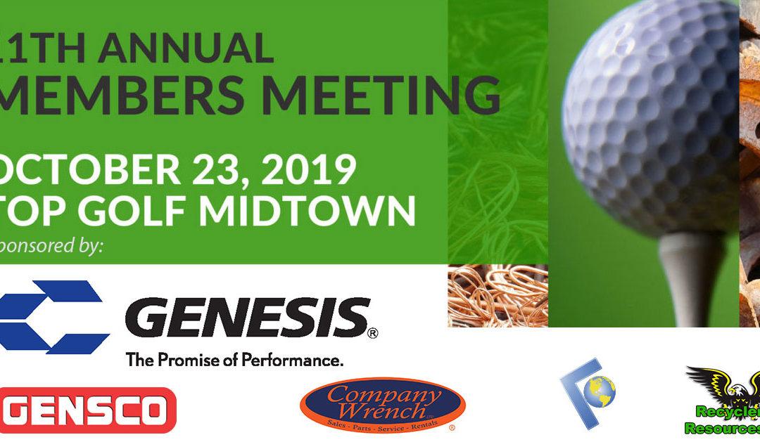 11th Annual GRA Members Meeting – Top Golf Atlanta Midtown
